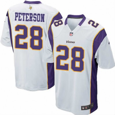 adrian peterson jersey white