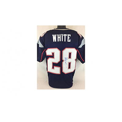 james white signed jersey