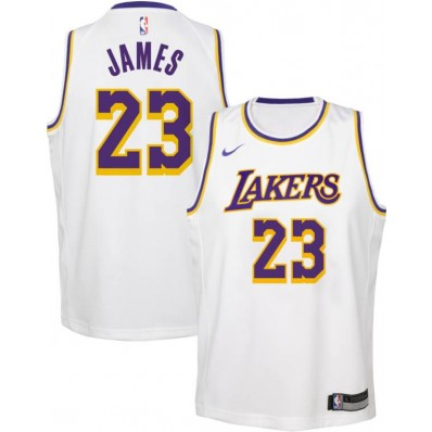 lakers white jersey james